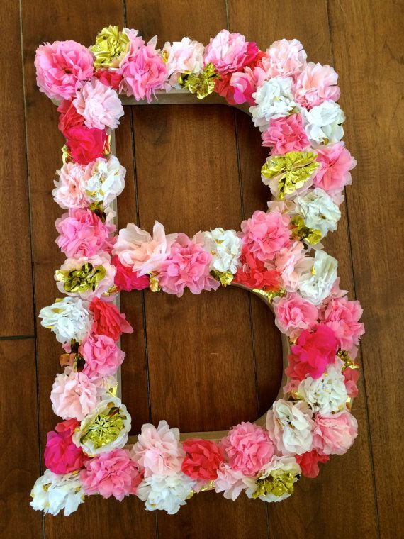 letter room decor diy art projects